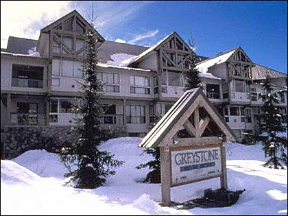 Greystone Lodge condos in Whistler winter time