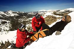 ski travel insurance - covers ski and snowboard injuries