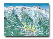 Fernie Trail Map - Find out the proximity of your Fernie Accomodations to the slopes.