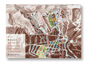 Kicking Horse Resort Ski Trail Map