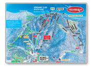 Mont Tremblant South Face Trail Map