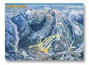 Map of Panorama Ski Resort BC Trails