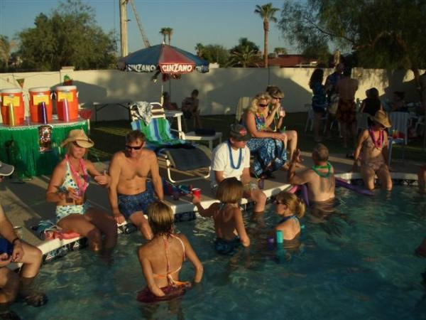 Scottsdale Sea & Ski Club Themed Party