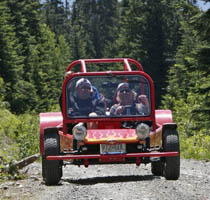 Take a Whistler backcountry tour on your custom hotrod