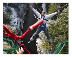 Experience the rush with Whistler Bungee!