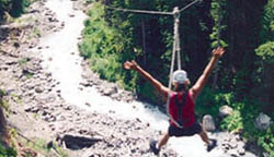 Riding a Zipline in Whistler is pretty much as fun as it looks.