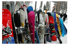 Pick from a large selection of Whistler equipment rentals.