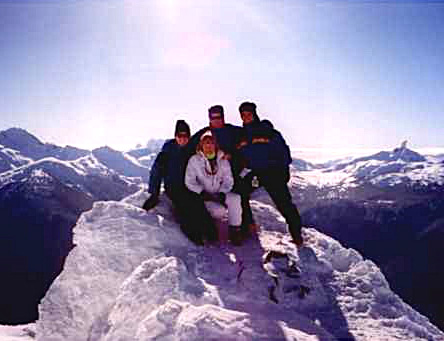 Cincinnati Ski Club in Whistler