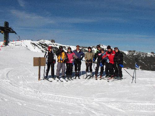 Group trips with the Cincinnati Ski Club