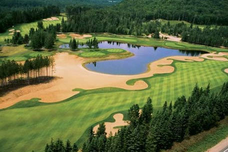 Scenic golf Tremblant experience