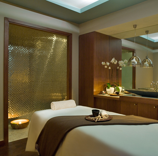 Mont Tremblant spa massage room - a place of ultimate relaxation