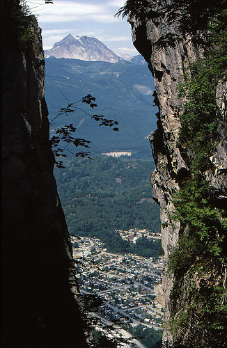 Squamish BC - wonderful view from the Chief
