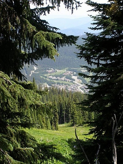 Sun Peaks BC in the summer