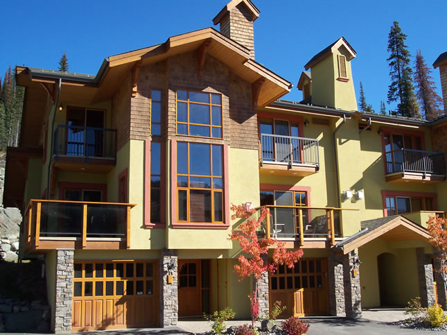 Sun Peaks BC Trails Edge townhomes