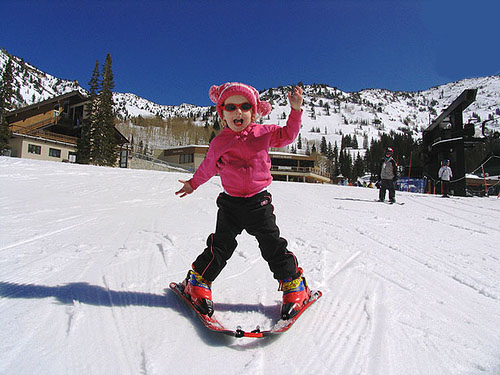 Sun Peaks Resort Sun Tots lessons are super fun!