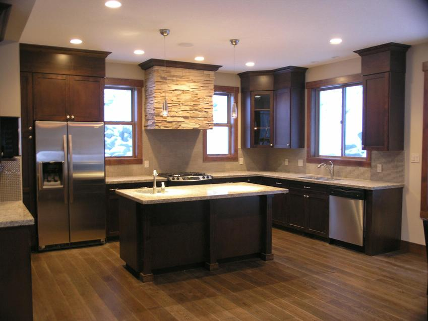 Sun Peaks ski resort kitchen - entertain in a place like this!