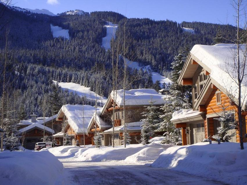 Taluswood townhomes in Whistler