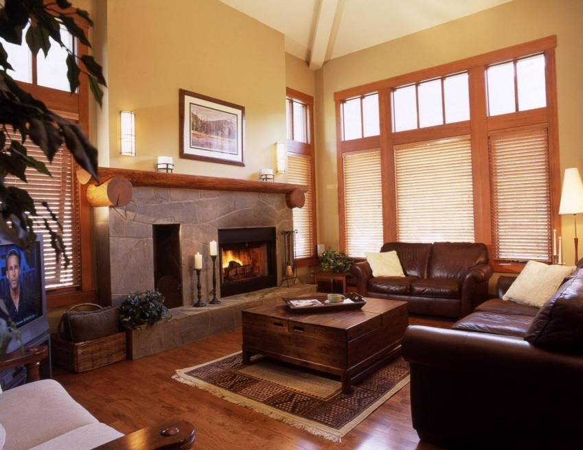 Taluswood Whistler cozy and comfy living room