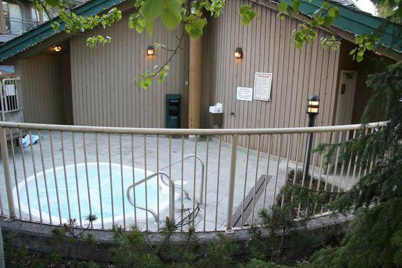 Share this outdoor hot tub with your friends and others in Valhalla in Whistler