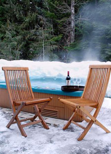 Whistler Chalet Hot Tub