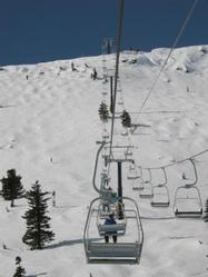 Big White's Cliff Chair
