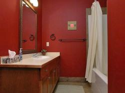 The Red Room ensuite.