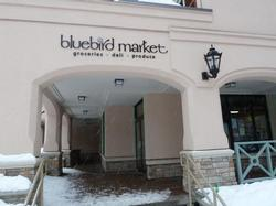 Bluebird Market located in the Village.