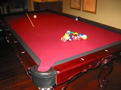 Enjoy a game of billiards after a great day on the slopes