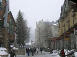 It's Snowing in the Village!