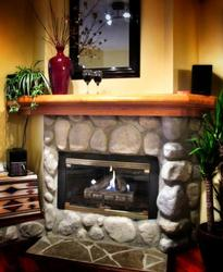 There is nothing like a warm fireplace to curl up in front of after a long day on the slopes.