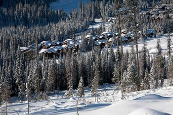 The unit is an easy ski to the Mt. Morrissey downhill lift and also is at at the xcountry trailhead to McGillvray Lake.