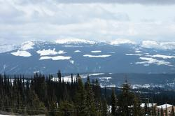 The Monashee's, viewed from the Living, Dining, and Deck area.