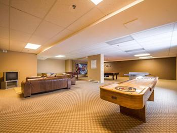 Games room with closed circuit TV coverage to your suite.