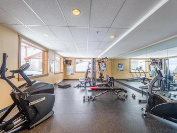 Private Fitness Room!