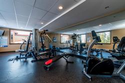 Fitness Room. Great place to keep up the momentum of your daily exercise regime. Weight systems, eliptical machine and treadmill machine available for your use.
