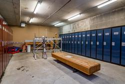 Ski locker room. Located on the ground floor. 2 ski lockers available for your use.