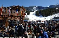 Dusty's at Creekside, voted every year as Whistler's best apres is a one minute walk to the Lake Placid Lodge.