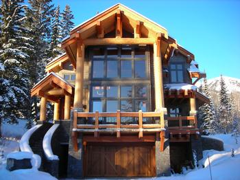 Welcome to Black Wolf Chalet - a Beautiful Kicking Horse Mountain Resort Home
