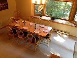 Large Dining Room with Room for Everyone for Meals and Games.