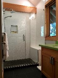 Master Bath Ensuite with Heated Floors.