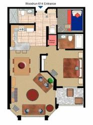 Unit 614 Floorplan