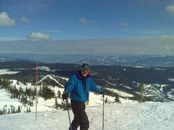 It doesn't get any better than this...Top of the World at BEAUTIFUL SUN PEAKS