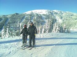 Fun for every level at Sun Peaks - a great family place!