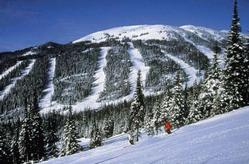 One of Three Mountains at Sun Peaks