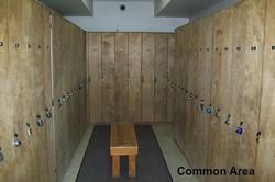 Owner's locker to safely store your equipment. Code access for both the common area and the locker will be provided.