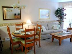 Comfortable Dining and Living areas ideal for relaxing and entertaining.