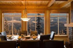 Dining Room in the Mountains !!!!