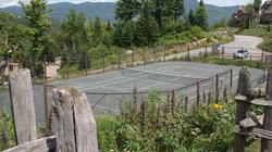 Tennis in the mountains