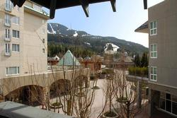 This is your view from your private deck. We are situated directly at the base of the mountain and your views are slope side. Everything Whistler has to offer is at your door step!