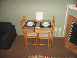 New Table and Chairs for 2